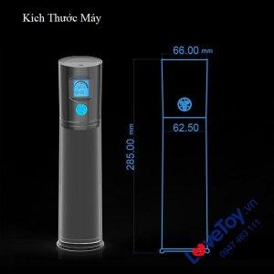 Máy Tập Dương Vật Tự Động Cao Cấp EVO LCD Penis Pump